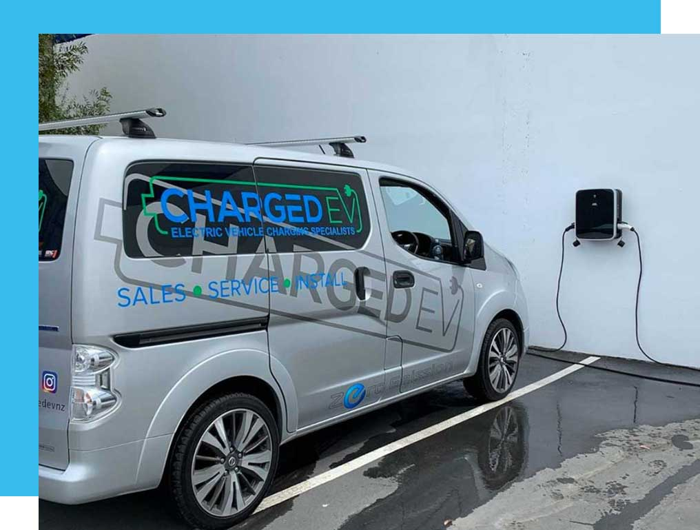 Electric Car Charging Charged EV